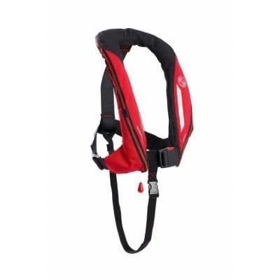 Kru Sport ADV Manual Lifejacket in Red / Carbon